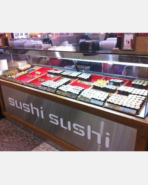 Tủ trưng bày sushi Hoshizaki HNC-210BA-R-S ảnh 4