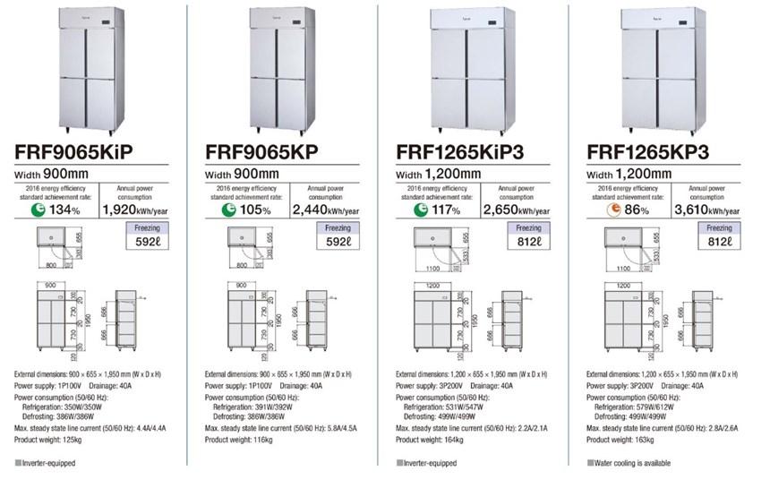 Tủ đông 4 cánh Fujimak FRF1265KP3 ảnh 3