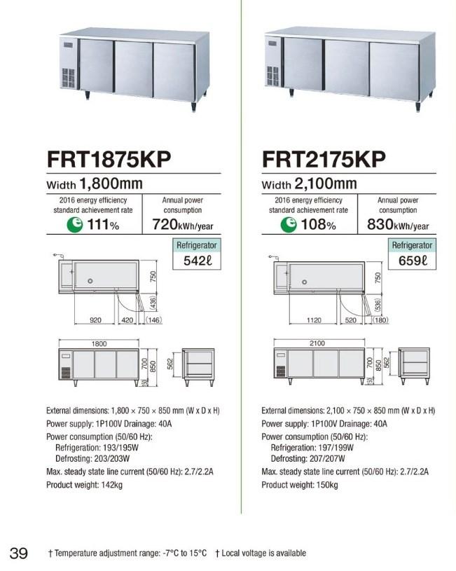 Bàn mát 3 cánh Fujimak FRT2175KP ảnh 2