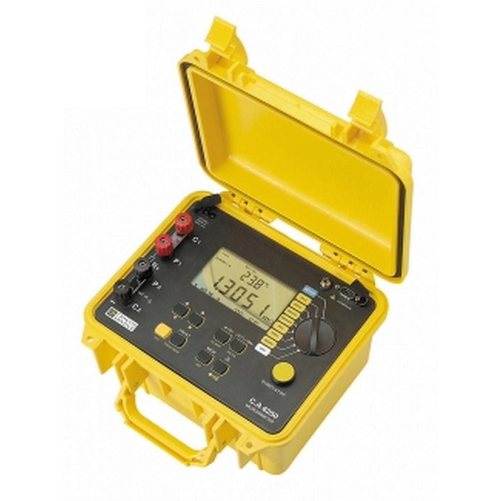 Thiết bị đo điện trở nhỏ (Micro-ohm) Chauvin Arnoux C.A 6250 (P01143201) (10A)