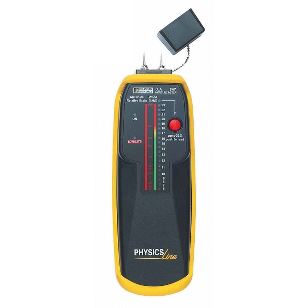.Máy kiểm tra độ ẩm vật liệu Chauvin Arnoux C.A 847 (P01156302Z, 6 - 100 %)