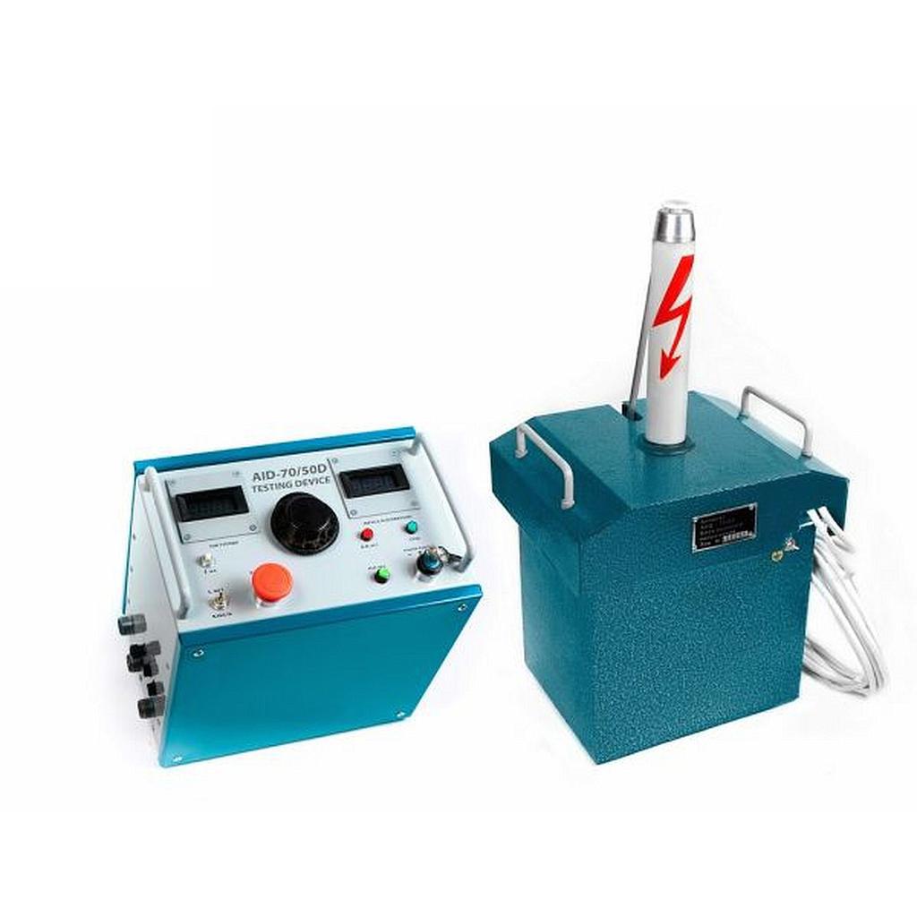 Thiết bị kiểm tra cao áp DET DTE-70/50D (AC:50kV, DC:70kV, hiện thị số)
