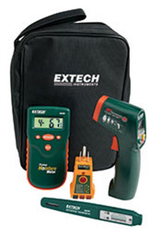 Bộ kit đo đa năng Extech MO280-KH ( đo độ ẩm gỗ, nhiệt độ hồng ngoại, nhiệt độ nước, kiểm tra lỗi nguồn điện)