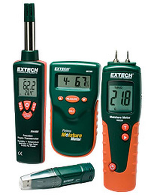 Bộ kit đo đa năng Extech MO280-RK (độ ẩm gỗ, nhiệt độ độ ẩm không khí, datalogger)