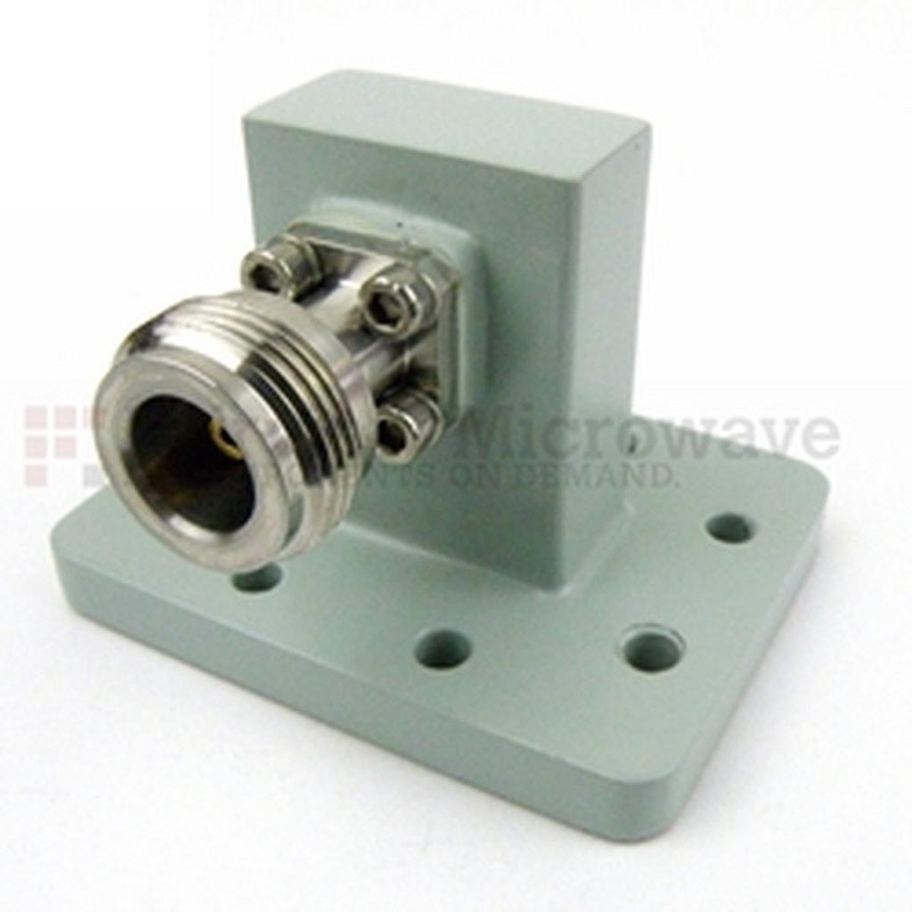 Ống dẫn sóng WR-90 - N Female Fairview 90AC206NG ( 8.2 GHz -12.4 GHz)