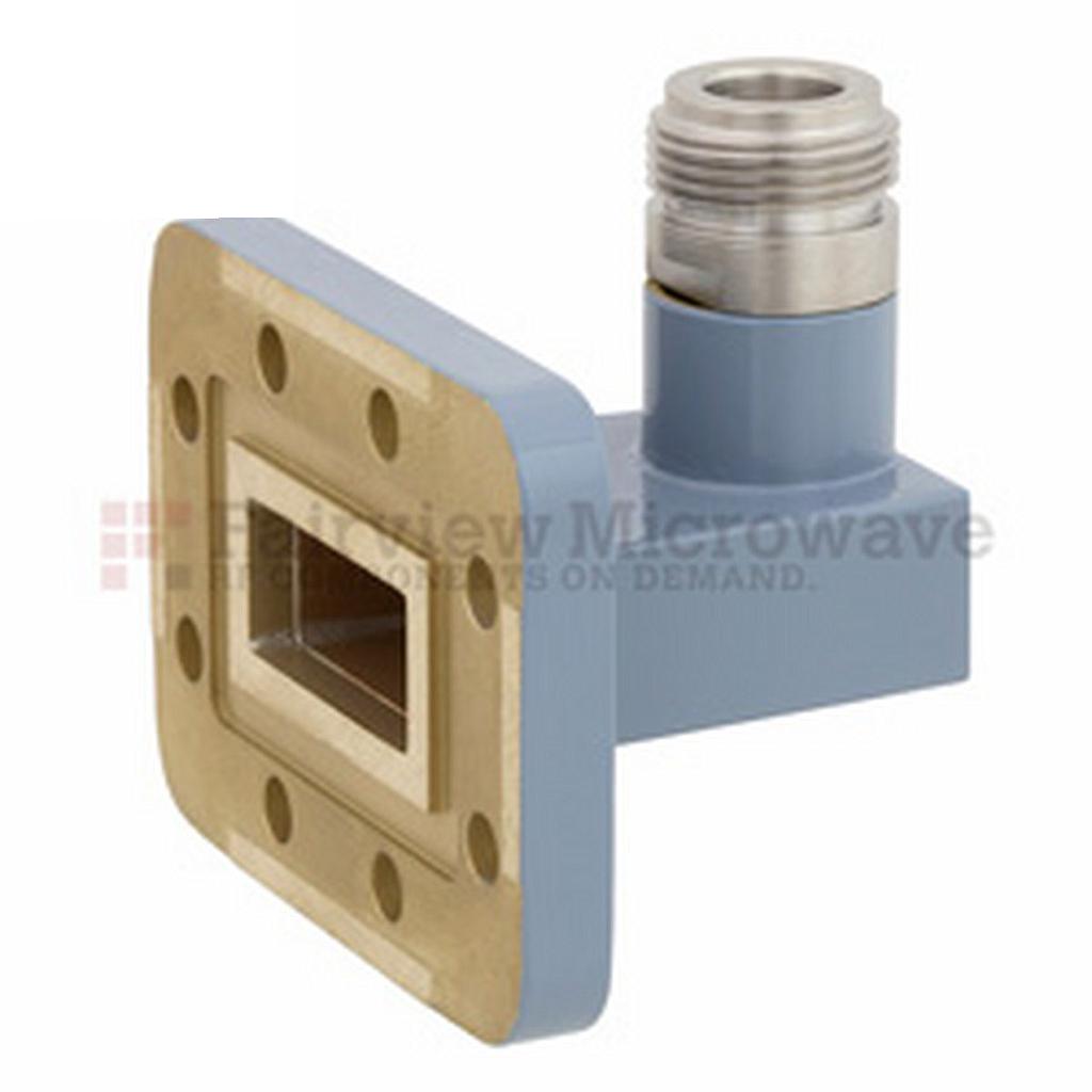 Ống dẫn sóng WR-90 - N Female Fairview FMWCA1009 ( 8.2 GHz -12.4 GHz)