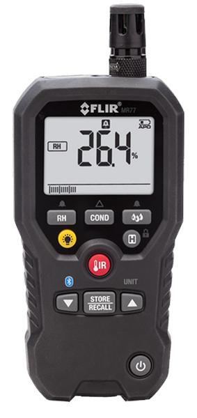 Máy đo độ ẩm gỗ, vật liệu và không khí đa năng FLIR MR77