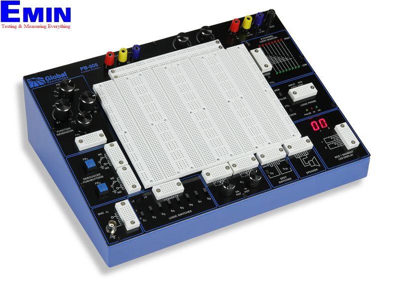 Bộ Kit thực hành kỹ thuật điện tử tương tự và số Global PB-505