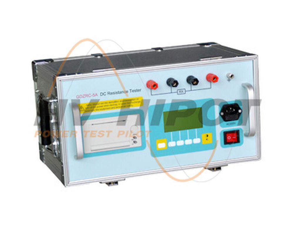 Máy đo điện trở DC cuộn dây  GDZRC-5A (1 pha, 5A)