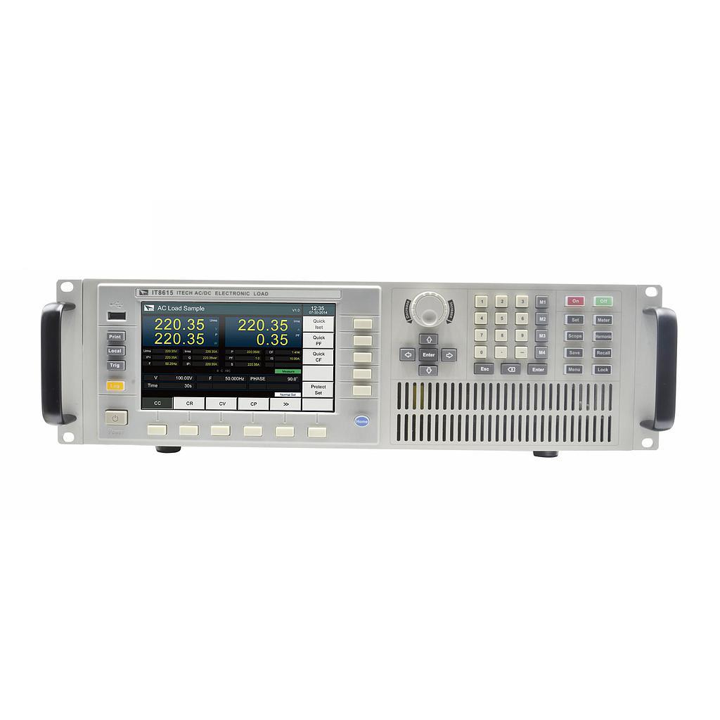 Tải điện tử AC/DC Itech IT8615 (50-420V ; 0-20A; 0-1800W)
