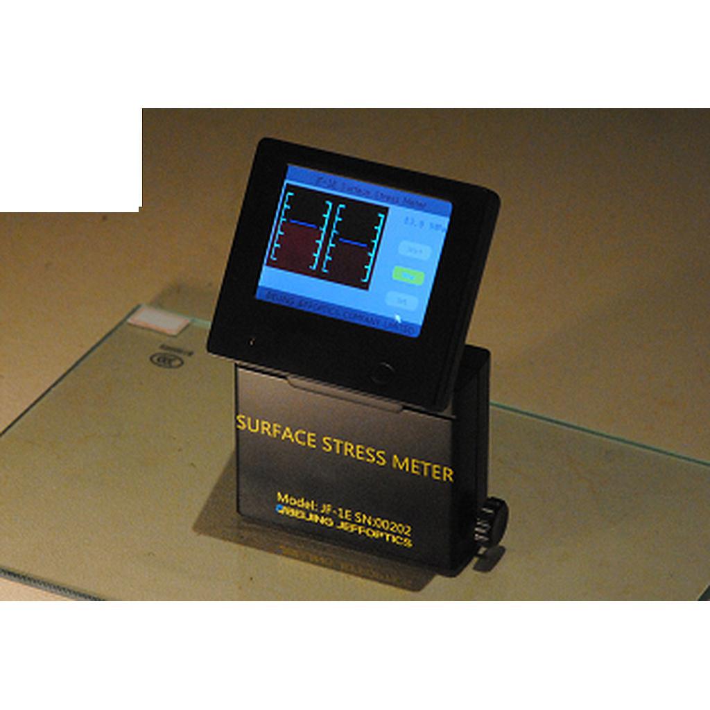 Máy đo ứng suất kính tôi luyện Jeffoptics JF-1E with PDA
