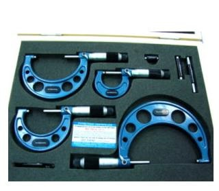 Bộ Panme đo ngoài Metrology- Đài Loan, OM-9017, 0-300mm/0.01mm