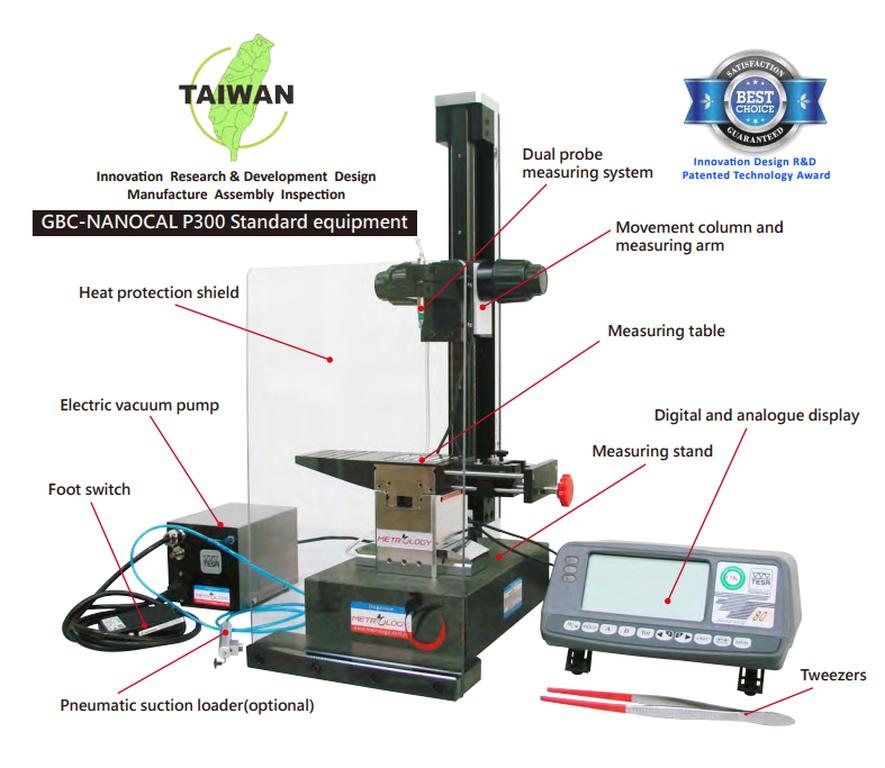 Hệ thống hiệu chuẩn chiều dài bộ căn mẫu Metrology GBC-P300