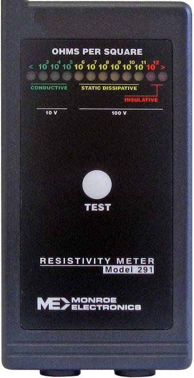 Máy đo điện trở suất bề mặt Monroe Electronics 291