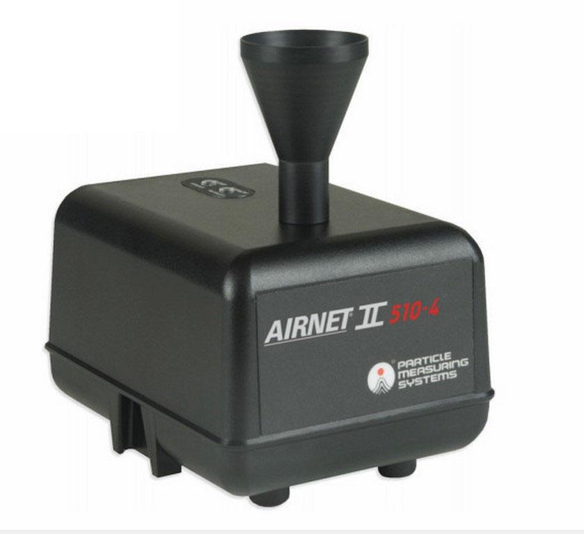 Thiết bị đếm hạt tiểu phân (hạt bụi) online PMS Airnet II 510-4 (0.5~10µm, 4 kênh)