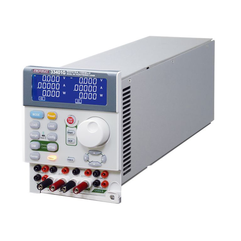 Tải điện tử DC mô phỏng LED Prodigit 33401G (150Wx2, 1.5A/6A, 500V)