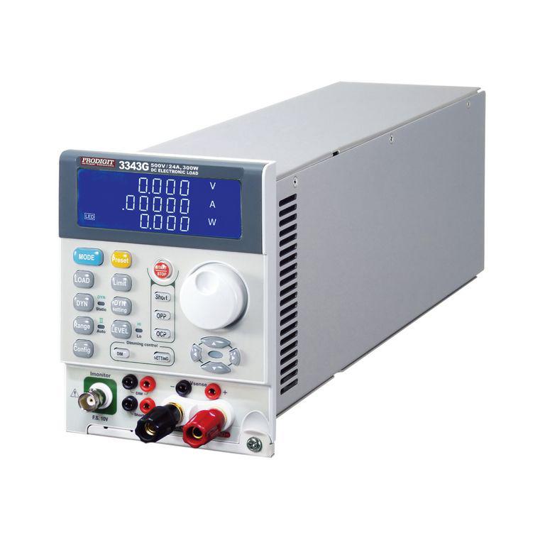 Tải điện tử DC mô phỏng LED Prodigit 3343G (300W, 6A/24A, 500V)