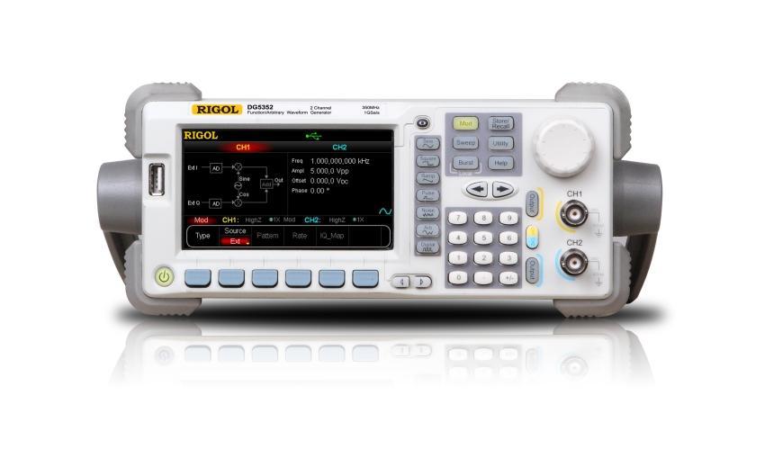 Máy phát xung Rigol DG5102, 100MHz, 2 Channel