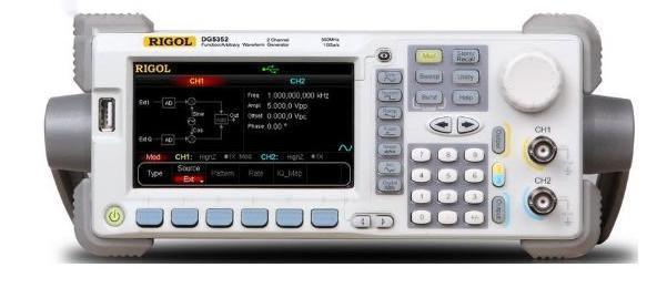 Máy phát xung Rigol DG5252, 250MHz, 2 channel