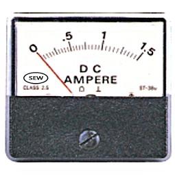 Đồng hồ đo điện DC gắn tủ Sew ST-38U ( 2%)