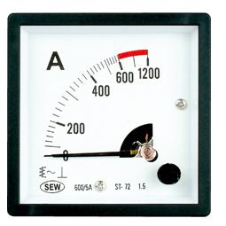 Đồng hồ đo tần số gắn tủ điện AC/ 3 pha SEW ST-72 (45-65Hz, 380V)