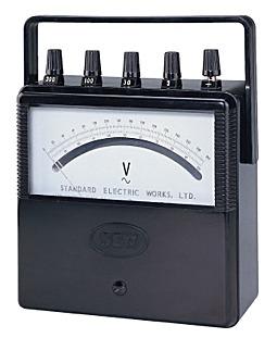 Vôn kế AC/DC di động Sew ST-2000 V ( ± 0.5% f.s)