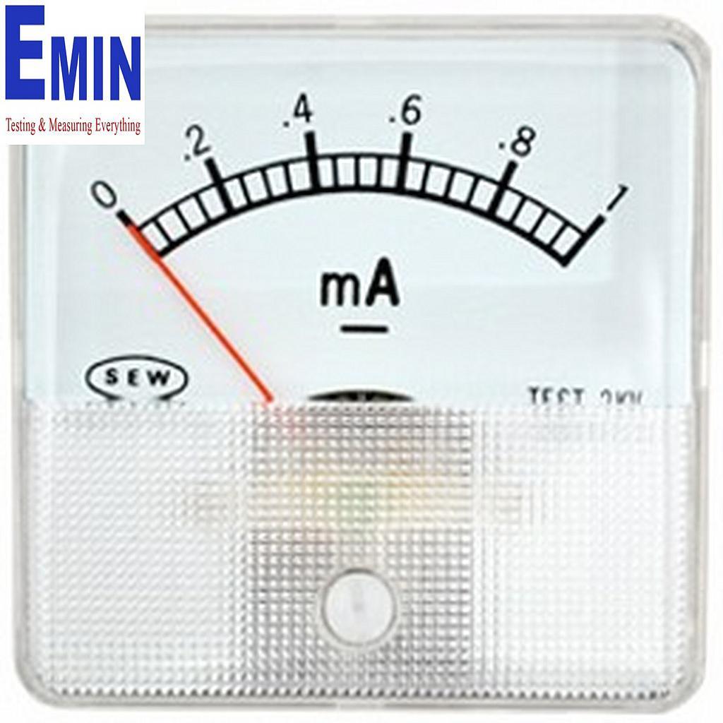 Đồng hồ đo điện gắn tủ đa năng Sew ST60 DC 1mA ( 2% DC)