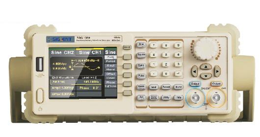 Máy phát xung tùy ý Siglent SDG1025 (25Mhz, 2Ch)