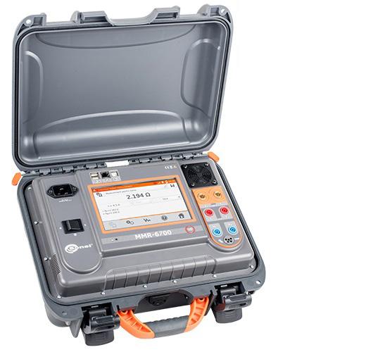 Máy đo điện trở thấp Sonel MMR-6700 (200A, đo điện trở, điện cảm)