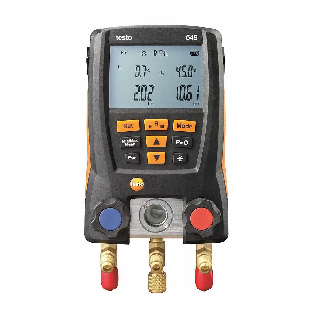 Máy đo đa năng testo 549 (0560 0550)(đo nhiệt độ, áp suất, chân không)