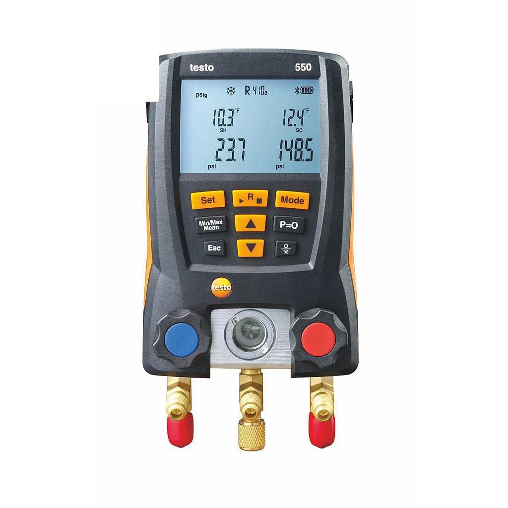 Máy đo đa năng testo 550 (0563 1550, đo nhiệt độ, áp suất, chân không)