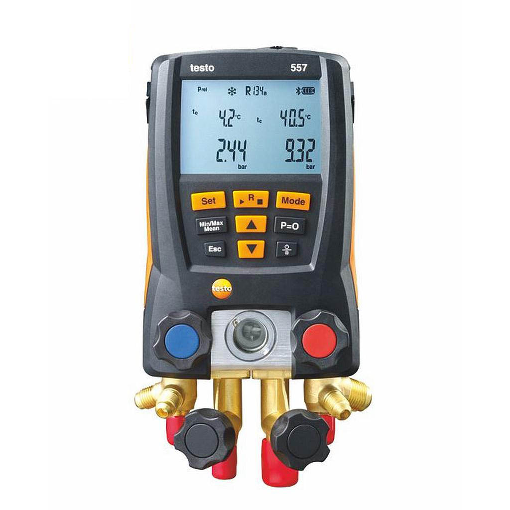 Máy đo đa năng testo 557(0563 1557) (đo nhiệt độ, áp suất, chân không, buetooth)