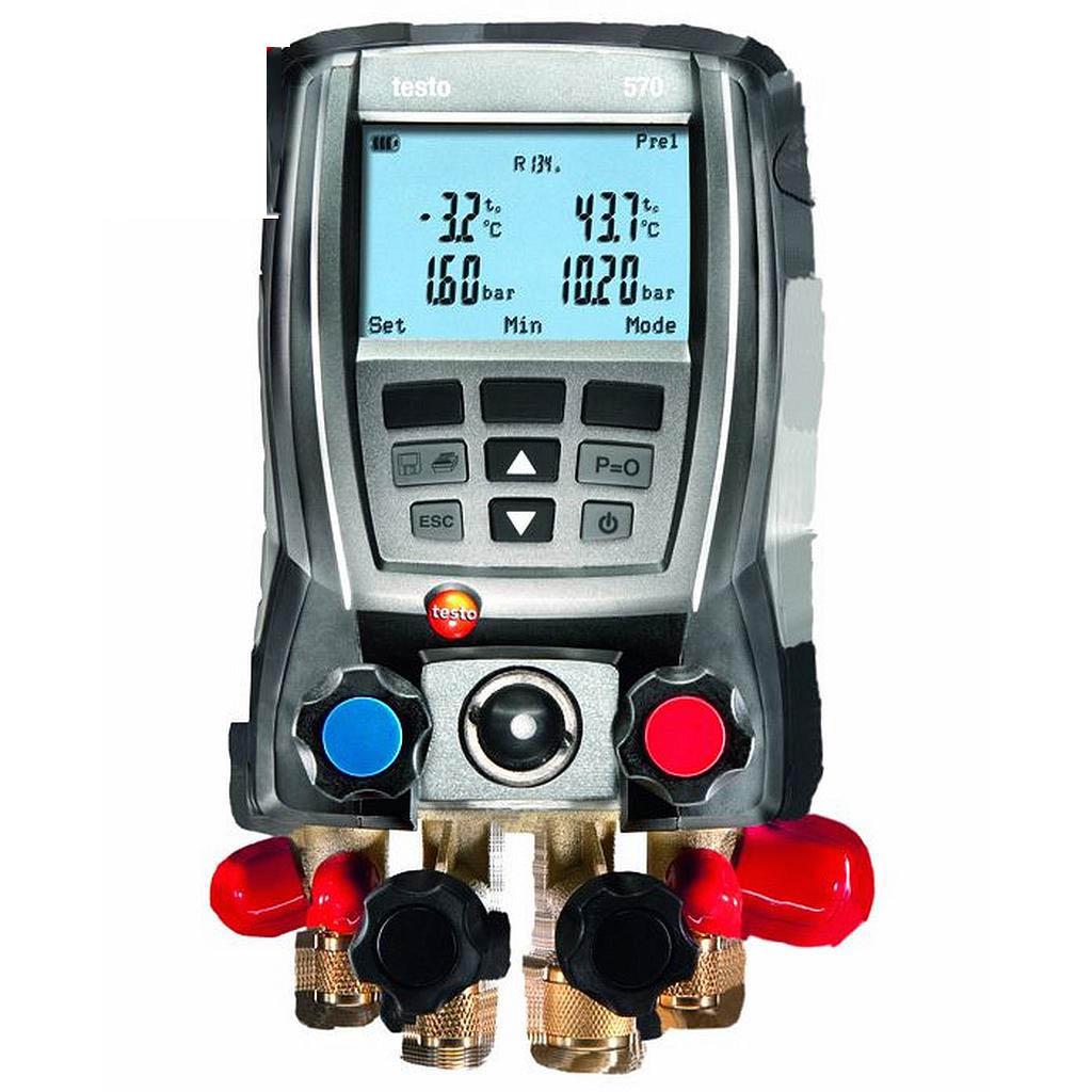 Máy đo đa năng testo 570-2(0563 5702) (nhiệt độ, áp suất, chân không, cáp dữ liệu USB)