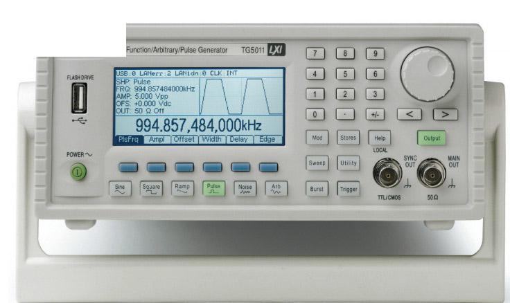 Máy phát xung TTI  TG5011G (50Mhz,Xung tùy ý, USB/LAN/GPIB)