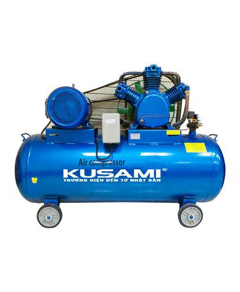 Máy nén khí dây đai Kusami KS-W-0.67/8-330L