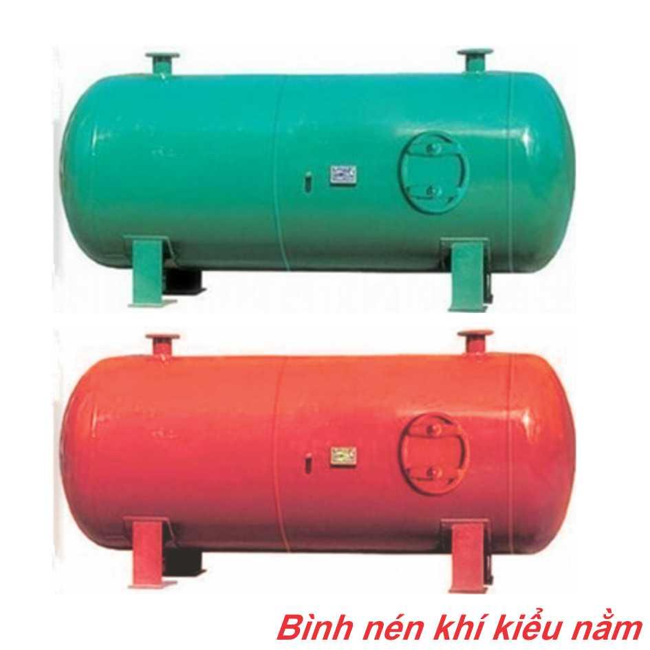 Bình nén khí kiểu nằm Kusami 1- 6m3