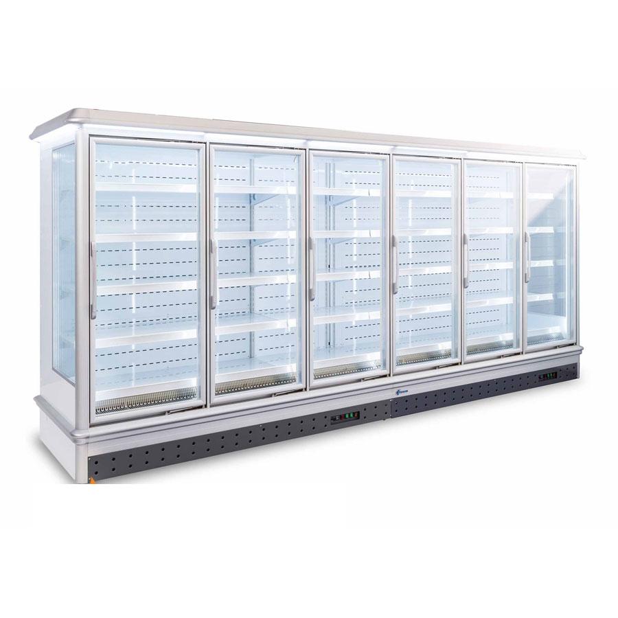 Tủ đông siêu thị dạng đứng 6 cánh (chế độ đông) KS-1500FMAW