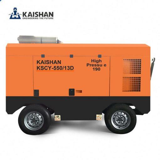 Máy nén khí di động kaishan KSCY-550/13D