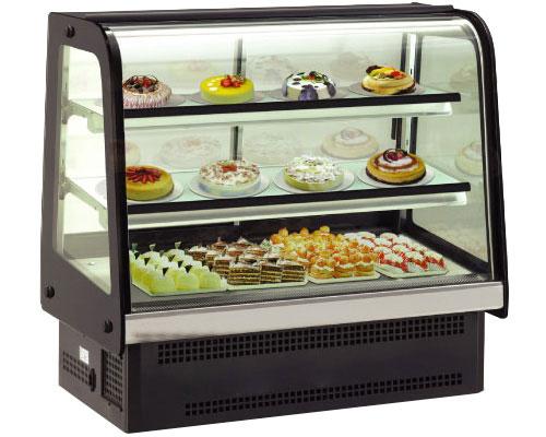 Tủ trưng bày bánh kem để bàn KUSAMI KS-252A