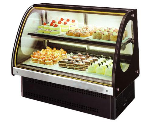 Tủ trưng bày bánh kem để bàn KUSAMI KS-252A1