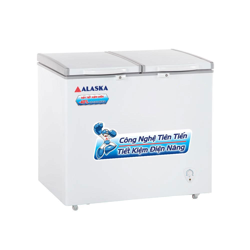 Tủ đông mát 2 cửa nắp đỡ Alaska BCD-3068N