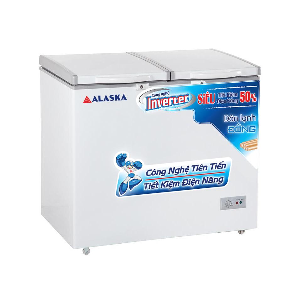 Tủ đông mát 2 cửa Inverter Alaska BCD-5568CI