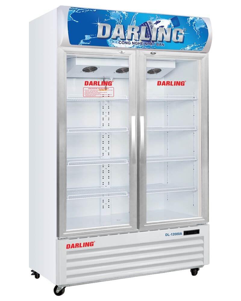 Tủ mát 2 cánh kính Darling DL-12000A