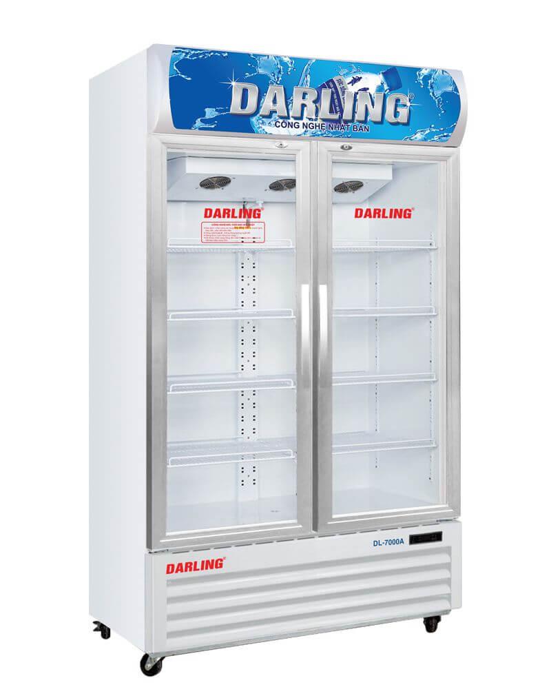 Tủ mát 2 cánh kính Darling DL-7000A