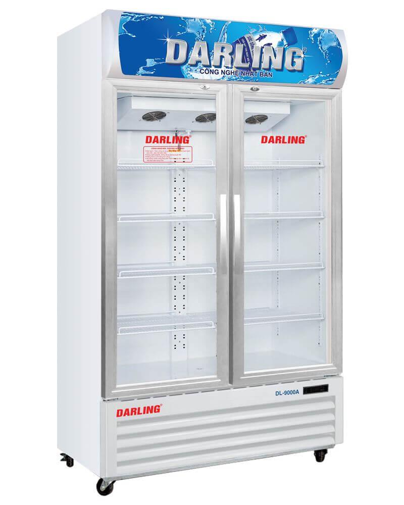 Tủ mát 2 cánh kính Darling DL-9000A