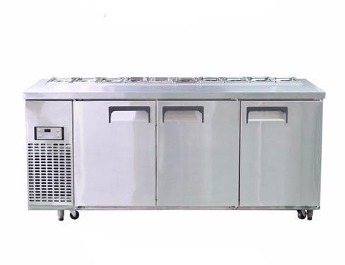 Bàn Salad 1800 3 cánh HAPPYS OKS-1800S-F