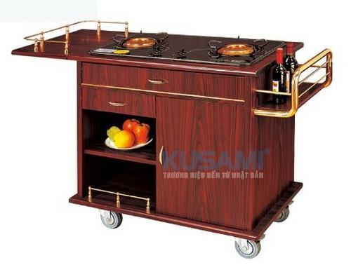 Xe đẩy bếp di động phục vụ Kusami KS-18A