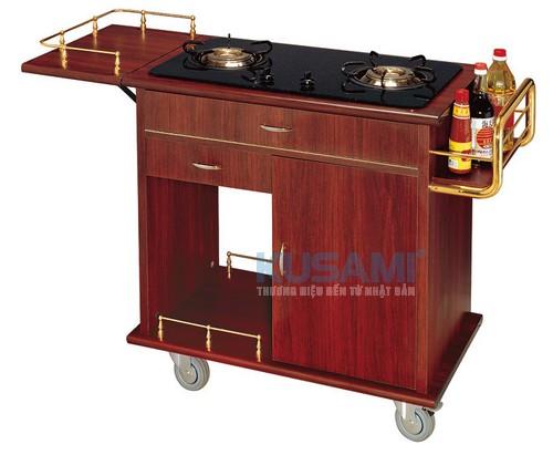 Xe đẩy bếp di động phục vụ Kusami KS-18