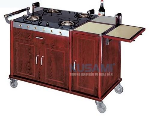 Xe đẩy bếp di động phục vụ Kusami KS-35