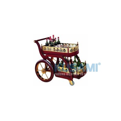 Xe đẩy phục vụ rượu Kusami KS-52